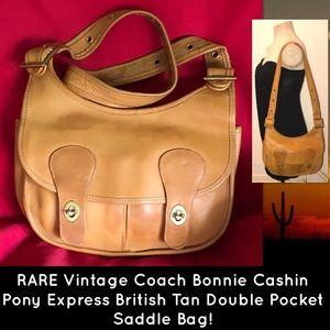 RARE Coach Bonnie Cashin Pony Express Saddle Bag!